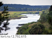 Купить «Река Угра», эксклюзивное фото № 2792615, снято 29 июля 2011 г. (c) Сергей Лаврентьев / Фотобанк Лори