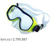 Купить «Маска для подводного плавания», фото № 2795887, снято 26 августа 2011 г. (c) Антон Стариков / Фотобанк Лори
