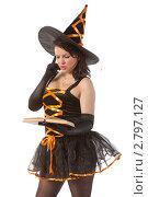 Купить «Молодая ведьма», фото № 2797127, снято 13 августа 2011 г. (c) Сергей Дубров / Фотобанк Лори