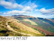 Купить «Осенний пейзаж в горах. Карпаты, Украина», фото № 2797327, снято 11 октября 2010 г. (c) Юрий Брыкайло / Фотобанк Лори