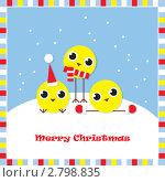 Купить «Новогодняя открытка», иллюстрация № 2798835 (c) Ольга Иванова / Фотобанк Лори