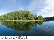 Купить «Озеро Ужин», фото № 2799771, снято 24 августа 2011 г. (c) Pukhov K / Фотобанк Лори