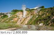 Купить «Долина гейзеров», фото № 2800899, снято 11 июля 2011 г. (c) Борис Иванов / Фотобанк Лори