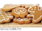 Купить «Имбирное печенье», фото № 2806711, снято 13 сентября 2011 г. (c) Наталья Бидюкова / Фотобанк Лори