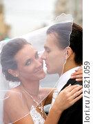 Купить «Жених и невеста», фото № 2821059, снято 23 августа 2011 г. (c) Egorius / Фотобанк Лори