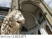 Купить «Крым, Воронцовский дворец», эксклюзивное фото № 2823871, снято 10 сентября 2011 г. (c) Дмитрий Неумоин / Фотобанк Лори
