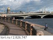 Купить «Набережная Невы. Санкт-Петербург», эксклюзивное фото № 2826747, снято 28 сентября 2011 г. (c) Александр Алексеев / Фотобанк Лори