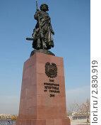 Памятник основателям города Иркутска (2011 год). Редакционное фото, фотограф Татьяна Сысоева / Фотобанк Лори