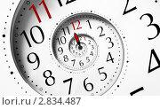 Бесконечная спираль времени, иллюстрация № 2834487 (c) Liseykina / Фотобанк Лори