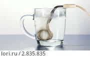 Купить «Закипание воды в кружке», видеоролик № 2835835, снято 29 сентября 2011 г. (c) Сергей Лаврентьев / Фотобанк Лори