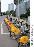 Брюссель. Прокат велосипедов (2011 год). Редакционное фото, фотограф Илюхина Наталья / Фотобанк Лори