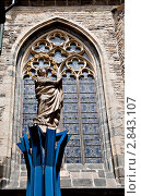 Купить «Скульптура в Праге», фото № 2843107, снято 19 июля 2010 г. (c) Руслан Якубов / Фотобанк Лори