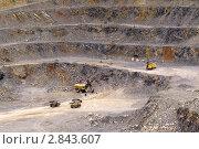 Купить «Карьер в горах», фото № 2843607, снято 11 июля 2007 г. (c) Хайрятдинов Ринат / Фотобанк Лори