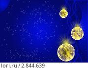 Купить «Новогодний фон», иллюстрация № 2844639 (c) Лысая Юлия / Фотобанк Лори