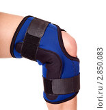 Купить «Травма колена», фото № 2850083, снято 1 августа 2011 г. (c) Gennadiy Poznyakov / Фотобанк Лори