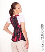 Купить «Травма спины», фото № 2850099, снято 1 августа 2011 г. (c) Gennadiy Poznyakov / Фотобанк Лори
