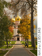 Валдайский Иверский мужской монастырь осенью (2011 год). Стоковое фото, фотограф Кудрявцева Светлана / Фотобанк Лори