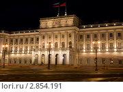 Купить «Санкт-Петербург. Мариинский дворец», эксклюзивное фото № 2854191, снято 10 августа 2011 г. (c) Литвяк Игорь / Фотобанк Лори