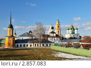 Купить «Ансамбль Коломенского Кремля», фото № 2857083, снято 4 апреля 2009 г. (c) Денис Ларкин / Фотобанк Лори