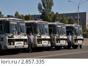 Купить «Передвижные пункты полиции», эксклюзивное фото № 2857335, снято 15 сентября 2011 г. (c) Free Wind / Фотобанк Лори