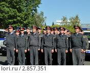 Купить «Полицейское подразделение», эксклюзивное фото № 2857351, снято 15 сентября 2011 г. (c) Free Wind / Фотобанк Лори