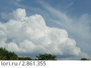 Облако. Стоковое фото, фотограф Жакова Дарья / Фотобанк Лори