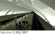 "Станция метро ""Митино"" Редакционное видео, видеограф Виктор Тараканов / Фотобанк Лори"