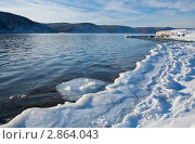 Купить «Ангара», фото № 2864043, снято 5 декабря 2010 г. (c) Виктория Катьянова / Фотобанк Лори