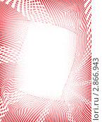 Абстрактный красно-белый фон. Стоковая иллюстрация, иллюстратор Сергей Павлов / Фотобанк Лори