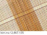 Купить «Бамбуковая салфетка», фото № 2867135, снято 13 октября 2011 г. (c) Александр Подшивалов / Фотобанк Лори