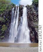 Водопад Ниагара, остров Маврикий. Стоковое фото, фотограф Leksele / Фотобанк Лори