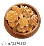 Купить «Имбирное печенье», фото № 2876983, снято 13 сентября 2011 г. (c) Наталья Бидюкова / Фотобанк Лори
