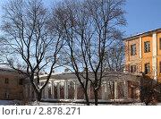 Купить «Балашиха, усадьба Пехра-Яковлевская», эксклюзивное фото № 2878271, снято 9 марта 2011 г. (c) Дмитрий Неумоин / Фотобанк Лори