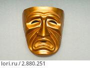 Купить «Театральная маска», фото № 2880251, снято 6 мая 2011 г. (c) Elnur / Фотобанк Лори