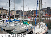 Купить «Онфлёр. Нормандия. Франция», фото № 2880567, снято 8 октября 2011 г. (c) Екатерина Овсянникова / Фотобанк Лори