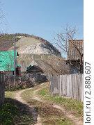 Купить «Село Ширяево в Жигулях», фото № 2880607, снято 2 мая 2009 г. (c) Сергей Ревич / Фотобанк Лори