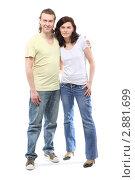 Купить «Счастливая пара», фото № 2881699, снято 4 апреля 2010 г. (c) Losevsky Pavel / Фотобанк Лори