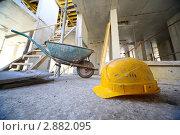 Купить «Стройка», фото № 2882095, снято 27 сентября 2010 г. (c) Losevsky Pavel / Фотобанк Лори