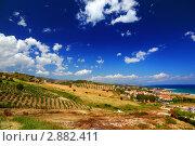 Купить «Летний пейзаж. Калабрия, Италия», фото № 2882411, снято 31 июля 2010 г. (c) Losevsky Pavel / Фотобанк Лори