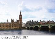 Купить «Елизаветинская башня, Биг-Бен», фото № 2883387, снято 7 июня 2010 г. (c) Losevsky Pavel / Фотобанк Лори