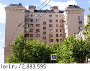 Купить «Жилой дом в Москве на Таганке. 5-й Котельнический переулок», фото № 2883595, снято 24 мая 2011 г. (c) Павел Кричевцов / Фотобанк Лори