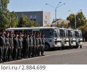 Купить «Гарнизонный развод полиции», эксклюзивное фото № 2884699, снято 15 сентября 2011 г. (c) Free Wind / Фотобанк Лори