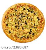 Пицца. Стоковое фото, фотограф Сергей Матвеев / Фотобанк Лори