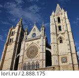 Кафедральный собор святой Марии.Город Лион Испания. Стоковое фото, фотограф киров николай / Фотобанк Лори