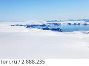 Купить «Ледники Земли Франца-Иосифа», фото № 2888235, снято 5 августа 2010 г. (c) Владимир Мельник / Фотобанк Лори