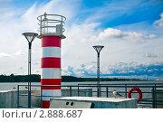 Купить «Небольшой маяк», фото № 2888687, снято 11 августа 2011 г. (c) Анна Лурье / Фотобанк Лори