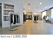 Интерьер магазина одежды (2011 год). Редакционное фото, фотограф Илья Лиманов / Фотобанк Лори