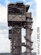 Купить «Свеча дожигания конвертерного газа», фото № 2892099, снято 14 сентября 2011 г. (c) Кекяляйнен Андрей / Фотобанк Лори