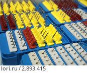 Стоматологические боры в подставке. Стоковое фото, фотограф Анжелика Гальченко / Фотобанк Лори