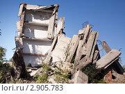 Разрушенное здание. Стоковое фото, фотограф Нилов Сергей / Фотобанк Лори